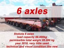 trailer Stokota 6 AXLE SEMI TRAILER LOW LOADER STOKOTA S6U.H4.N1-01
