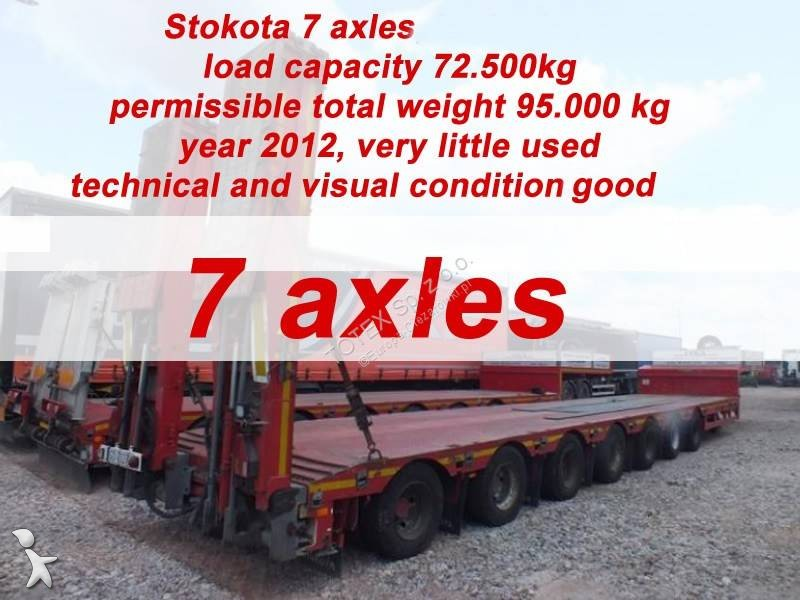 Naczepa Stokota 7 AXLE SEMI TRAILER LOW LOADER STOKOTA S7U.H5N1-04