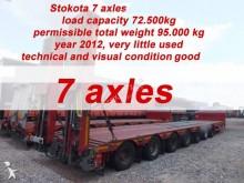semirimorchio Stokota 7 AXLE SEMI TRAILER LOW LOADER STOKOTA S7U.H5N1-04