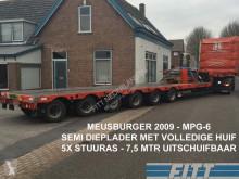 Meusburger MPG-6 / 6ass semi, 5x stuuras, 7,50 mtr uitschuifbaar, huif/schuifkap