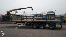 Floor STONE/BRIKS TRANSPORT TRAILER WITH KENNIS 14.000 CRANE