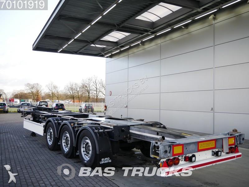 Trailer Schmitz Cargobull SGF*S3 2x Ausziehbar Extending-Multifunctional-Chassis Liftachse