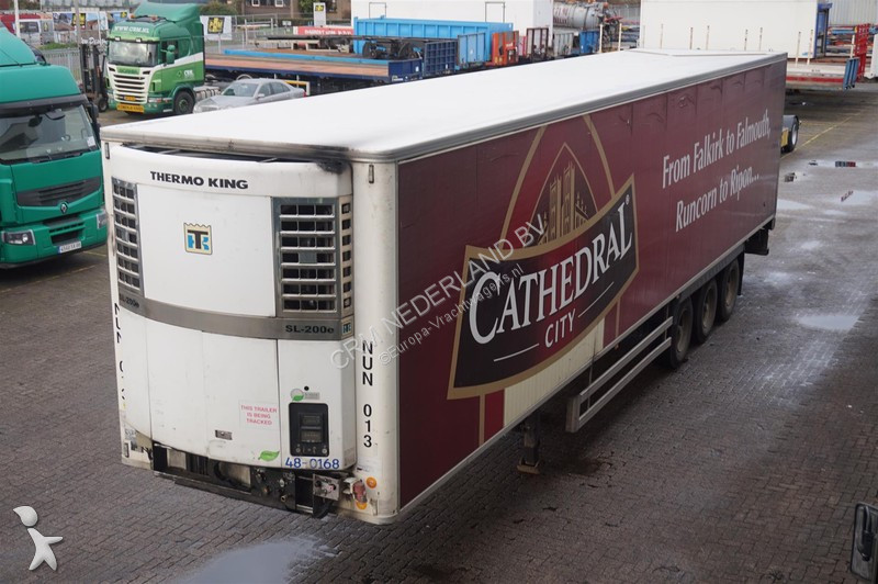 Trailer Chereau Koel/vries 3-assig Thermo King SL200e