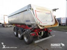semi remorque Schmitz Cargobull Tipper steel half pipe body 24m³