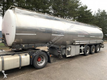 Fruehauf 38.000 L TANKER - 11 Compartiments - citerne - mazout / carburant / diesel / petrol - AIR SUSPENSION semi-trailer