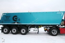 Gras tipper semi-trailer