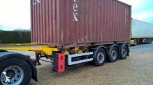 semi remorque porte containers Fruehauf