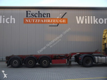 semi remorque Carnehl CCS / MHS Containerchassis, Mitte+Heckausschub