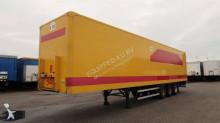 trailer Groenewegen Double-Stock, full chassis, liftaxle, BPW
