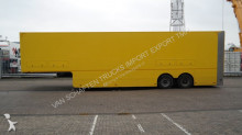 Van Eck SPECIAL TRAILER WITH DOUBLE FLOOR AND IN HEIGHT AJUSTABLE CARGO LIFT