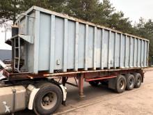 trailer LAG 42m³ - 3-ESS BPW - CHASSIS ACIER / BENNE ACIER --- STEEL CHASSIS / STEEL TIPPER --- STAHL CHASSIS / STAHL KIPMULDE --- BONNE ETA