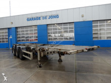 semi remorque Turbo's Hoet Tankchassis 20/30 FT / SAF DISC