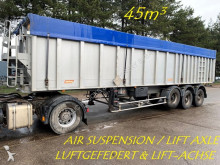 Benalu 45m³ ALU KIPPER - GROSS VOLUME - LUFTGEFEDERT - ABS - LIFT-ACHSE / FULL ALU - BIG VOLUME - AIR SUSPENSION - LIFT AXLE semi-trailer