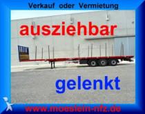 Faymonville 3 Achs Tele Auflieger, ausziehbar, gelenkt semi-trailer