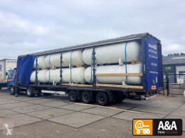 nc 12 X GAS LPG TANK LOADED ON 13.60 TRAILER