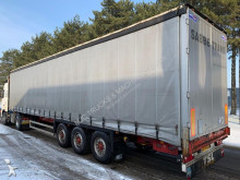 naczepa Groenewegen SPR27 - MB - DISC BRAKES - CLEAN CHASSIS - CURTAINSIDE TRAILER - BELGIAN PAPERS