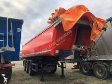 damaged tipper semi-trailer