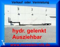 trailer onbekend 2 Achs Tiefbett Tieflader, Ausziehbar + hydr. g