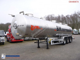Magyar Chemical tank inox 32.5 m3 / 1 comp semi-trailer