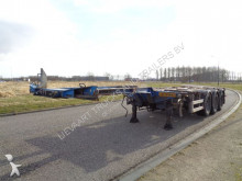 Pacton Extendable Chassis / BPW / NL Trailer / Liftaxle semi-trailer