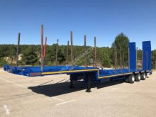 Leciñena heavy equipment transport semi-trailer
