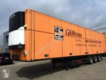Schmitz Cargobull SKO24/ Faltwand/Carrier Maxima 1200 / SAF-Achsen semi-trailer