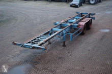 Van Hool Container chassis 2-assig/ 40ft, 2x20, 20/ Full Steel semi-trailer