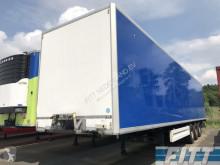 Krone gesloten opbouw - schade deur semi-trailer