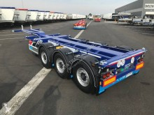 semi reboque D-TEC 3 essieux - FLEXITRAILER - Multipositions -