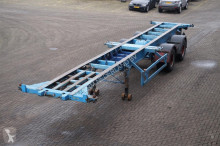 Fruehauf Container chassis 2-assig/ 40ft./ Full Steel semi-trailer