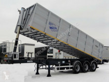 Mega TIPPER 43 M3 /WHOLE STEEL /LIFTED AXLE / semi-trailer