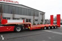 Metalair 4 AXLE LOW LOADER EXTENDABLE METAL-FACH NOVA semi-trailer