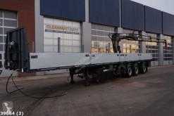Schwarzmüller SPA 3/E met Hiab 16 ton/meter laadkraan semi-trailer