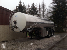 semi remorque Maisonneuve SEMI-TRAILER WITH TANK IN STAINLESS STEEL 25000 L