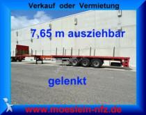 transport utilaje n/a 3 Achs Tele Auflieger, 7,65 m ausziehbar, gelen
