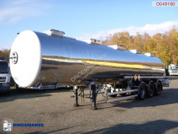 Magyar Chemical tank inox 33 m3 / 1 comp semi-trailer