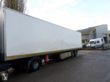 damaged plywood box semi-trailer