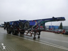 Pacton 3er Paket Containerchassis Blattfederung / Leaf Springs semi-trailer