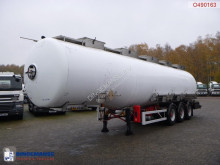 Magyar Chemical tank inox 37.5 m3 / 3 comp semi-trailer