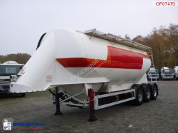 Feldbinder Bulk tank alu 38 m3 / 1 comp semi-trailer