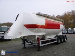 semirremolque Feldbinder Bulk tank alu 38 m3 / 1 comp