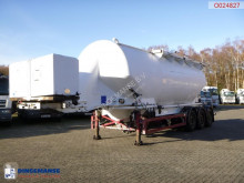 semi remorque Feldbinder Powder tank alu 40 m3 / 1 comp + engine/compressor