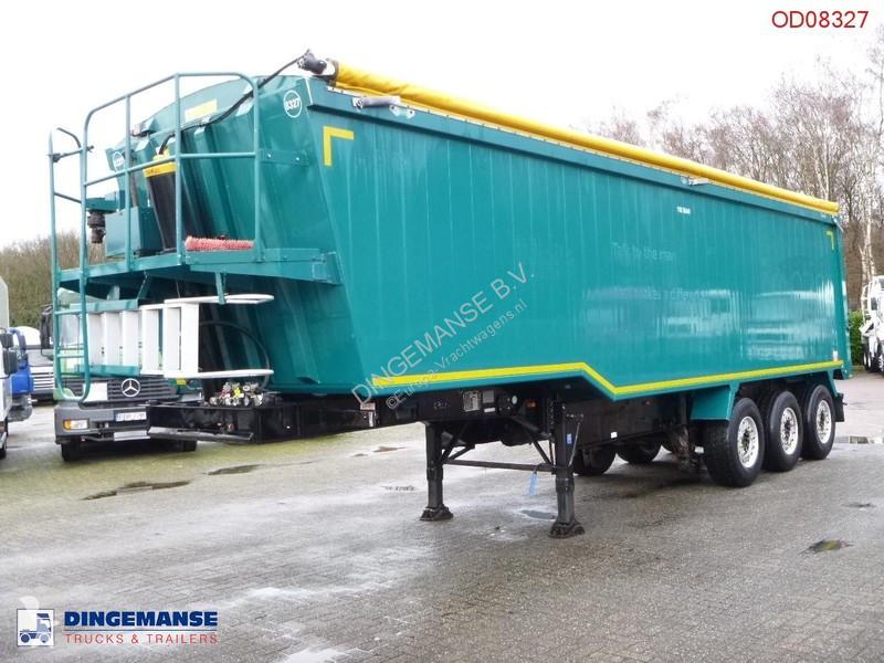 Voir les photos Semi remorque Weightlifter Tipper trailer alu 50 m3 + tarpaulin
