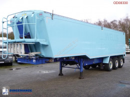 Weightlifter Tipper trailer alu 51.5 m3 + tarpaulin semi-trailer