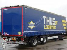 trailer Krone SCHIEBEPLANE MIT BORDEN / LENK-ACHSE / LBW