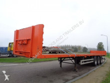 semi remorque Pacton PLatform / Drumbrakes / Super for loading ! / NL Trailer