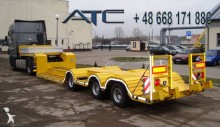 ATC heavy equipment transport semi-trailer