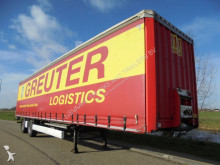 semirremolque Krone City Tautliner / SAF / Disc / Steering Axle / NL Trailer