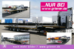 new heavy equipment transport semi-trailer