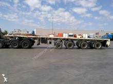 Goldhofer flatbed semi-trailer